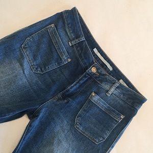 ZARA Flare Leg Jeans!